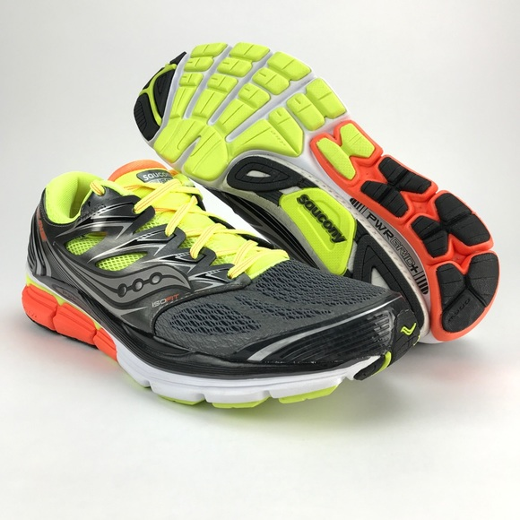 a28224a6 Saucony Mens Hurricane ISO Running Shoes Size 10.5 NWT